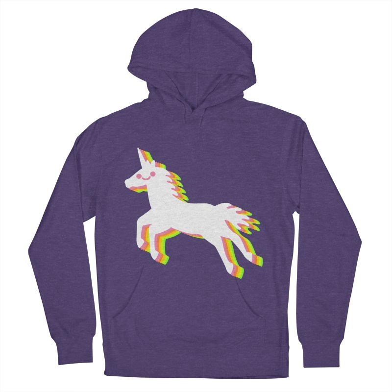 Derpy Unicorn Men's Pullover Hoody by JC Design