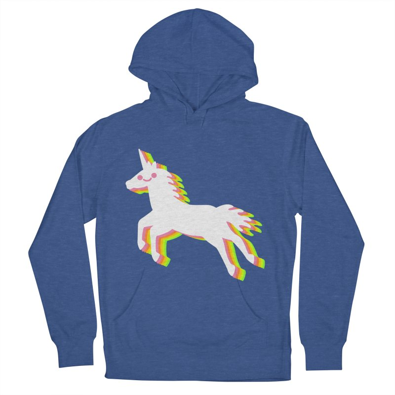 Derpy Unicorn Men's Pullover Hoody by JC Design