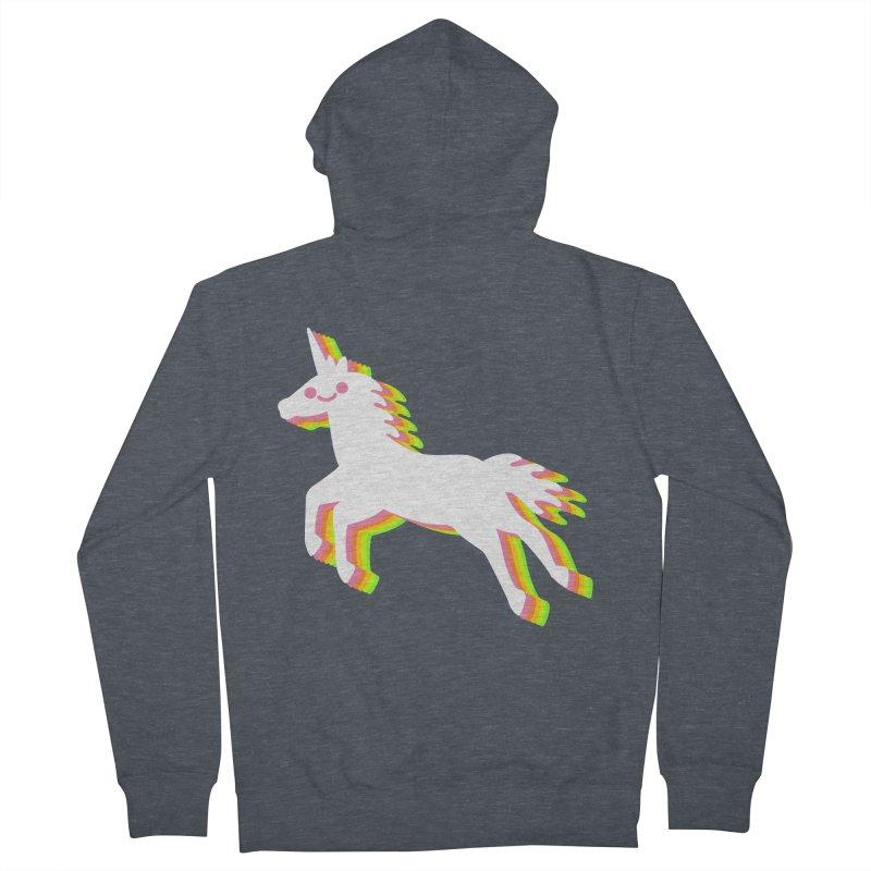 Derpy Unicorn Women's Zip-Up Hoody by JC Design