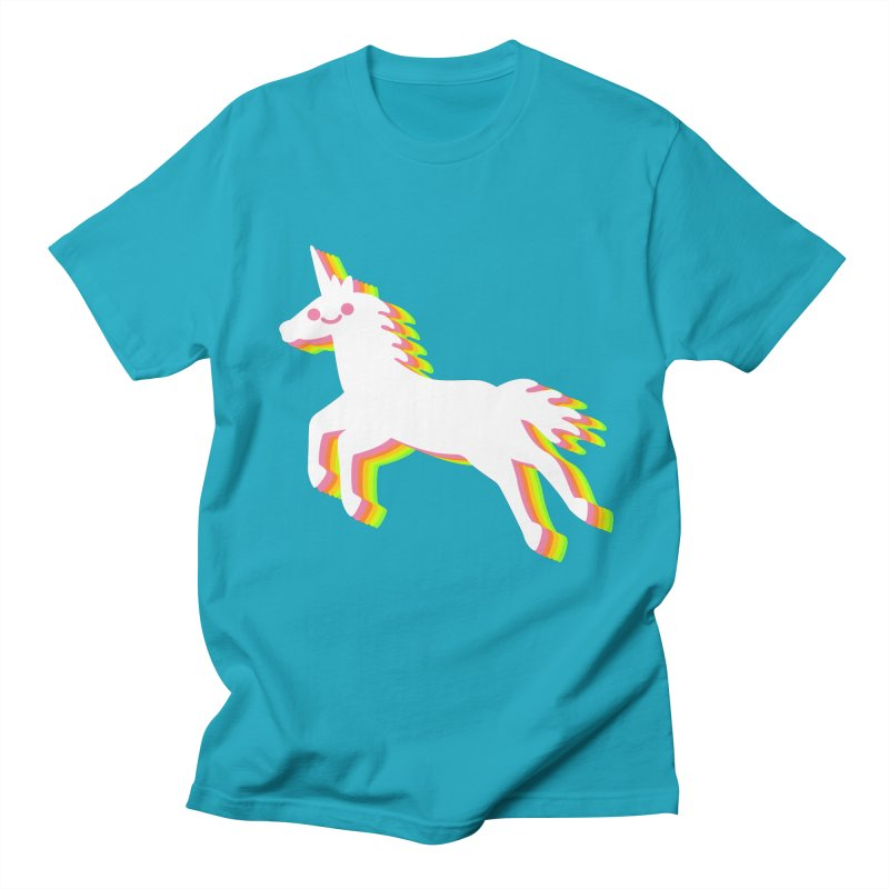 Derpy Unicorn Men's T-Shirt by JC Design
