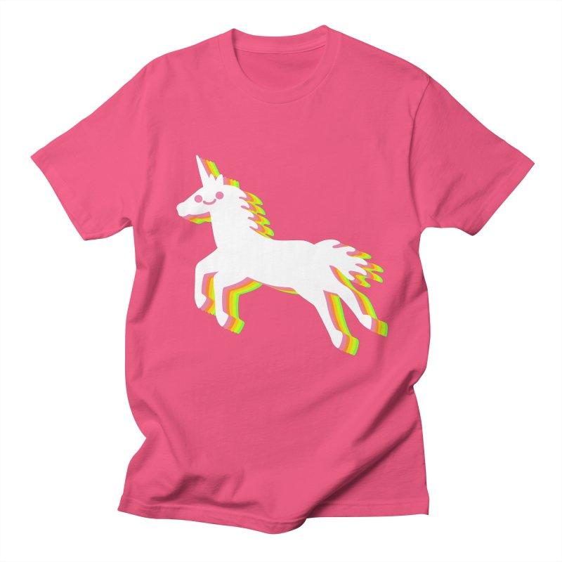 Derpy Unicorn Men's T-shirt by JC Design