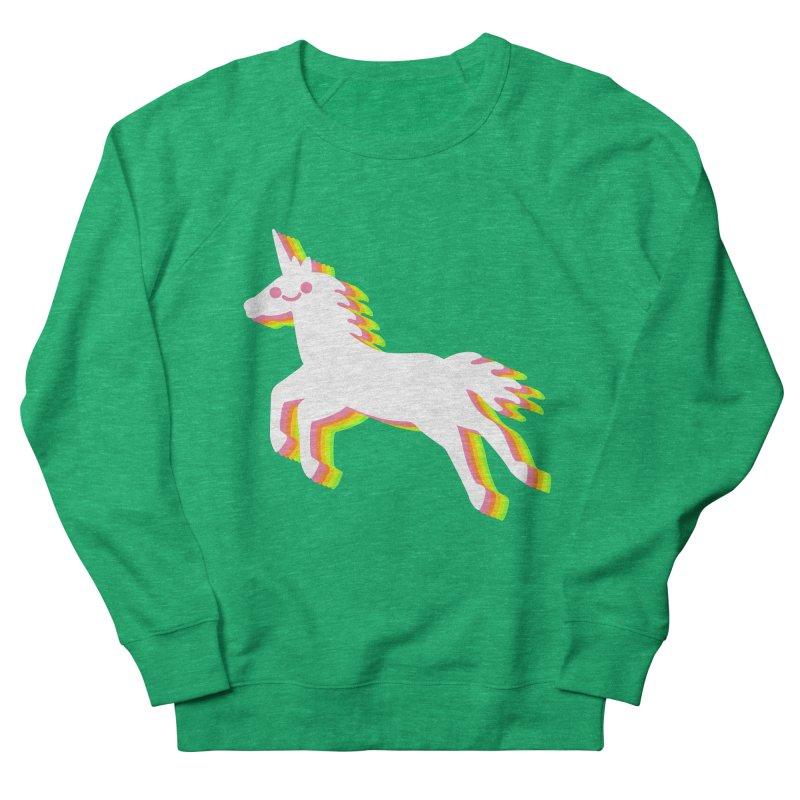 Derpy Unicorn Men's Sweatshirt by JC Design