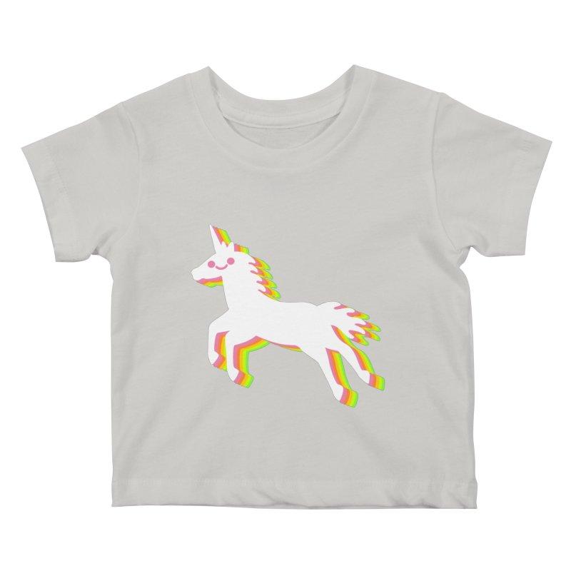 Derpy Unicorn Kids Baby T-Shirt by JC Design