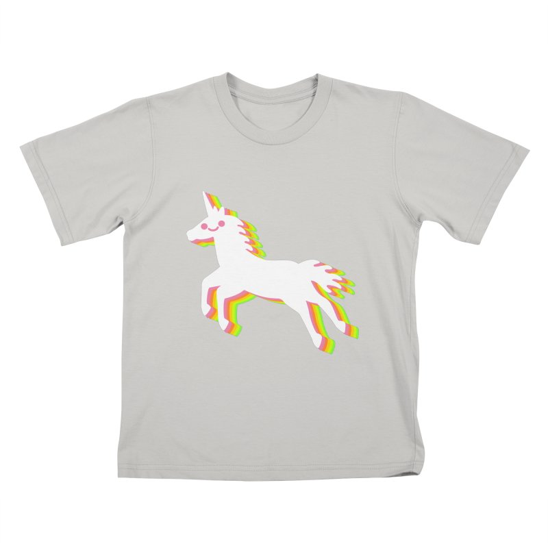 Derpy Unicorn Kids T-shirt by JC Design
