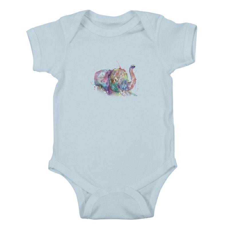 El Kids Baby Bodysuit by jamietaylorart's Artist Shop
