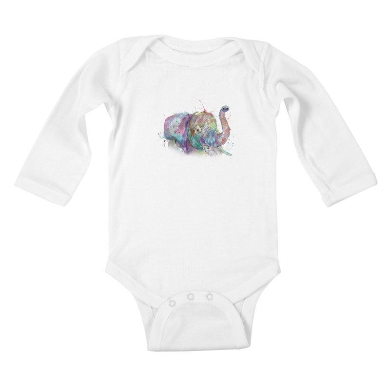 El Kids Baby Longsleeve Bodysuit by jamietaylorart's Artist Shop