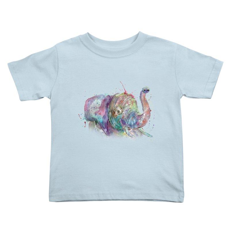 El Kids Toddler T-Shirt by jamietaylorart's Artist Shop
