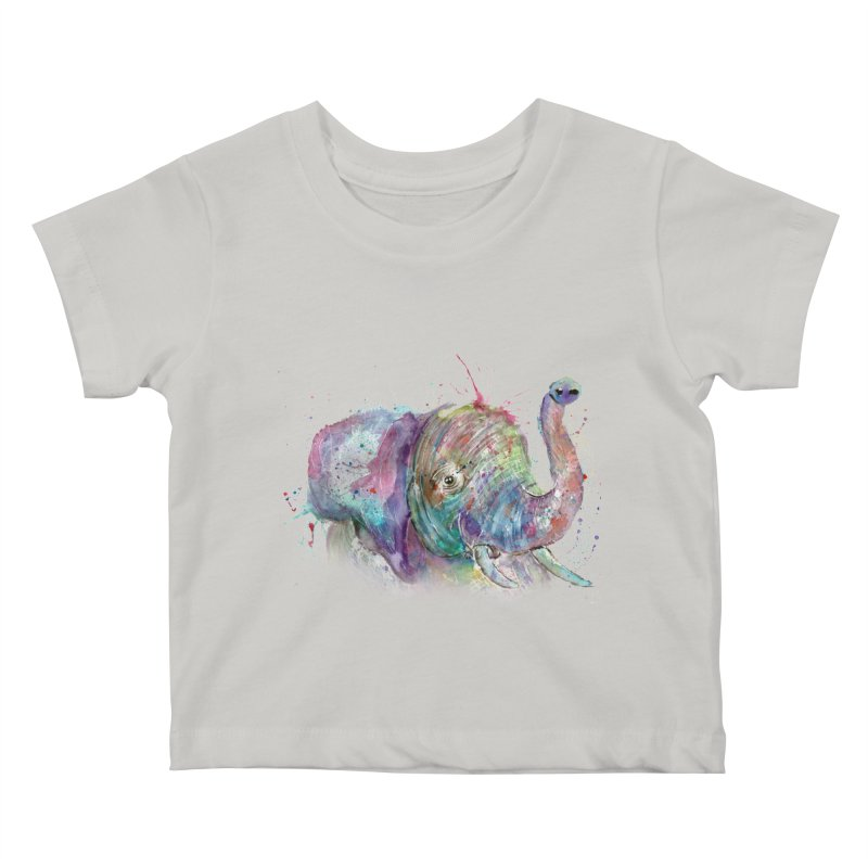 El Kids Baby T-Shirt by jamietaylorart's Artist Shop
