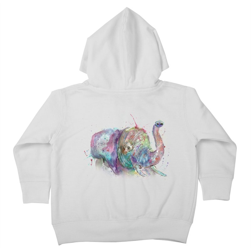 El Kids Toddler Zip-Up Hoody by jamietaylorart's Artist Shop