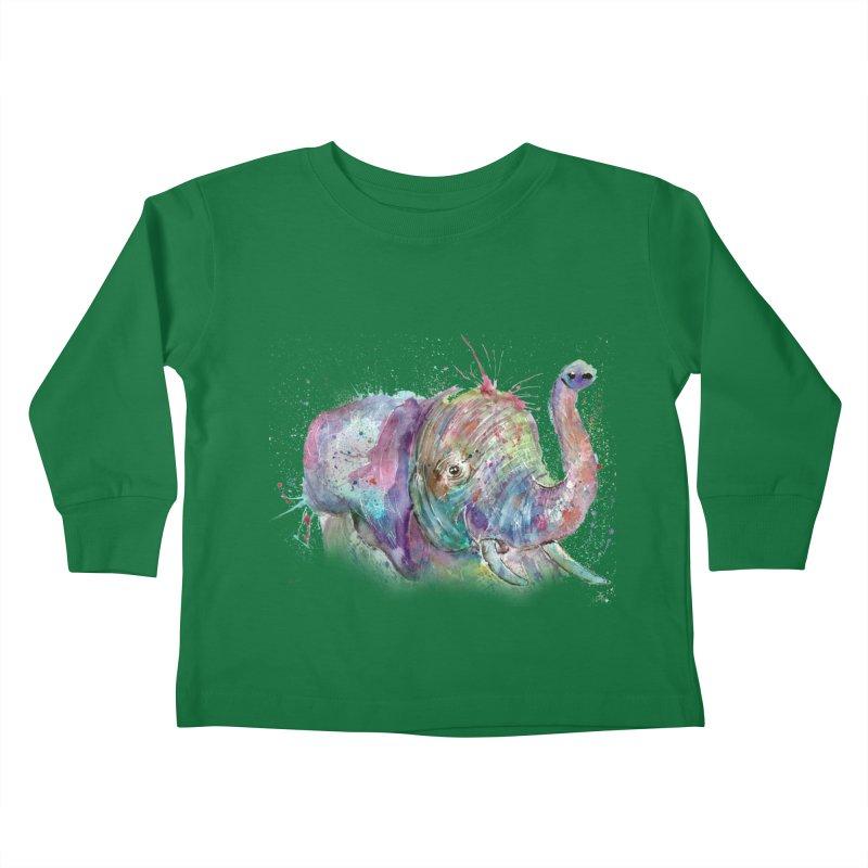 El Kids Toddler Longsleeve T-Shirt by jamietaylorart's Artist Shop