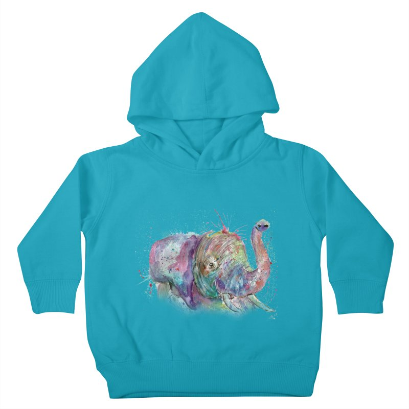 El Kids Toddler Pullover Hoody by jamietaylorart's Artist Shop