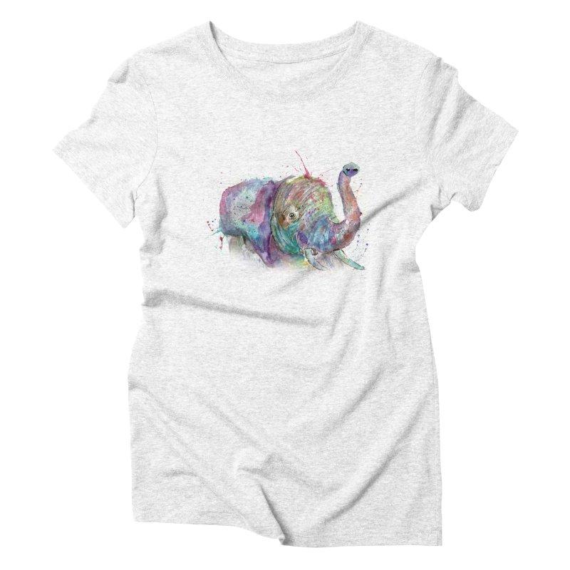 El Women's Triblend T-shirt by jamietaylorart's Artist Shop