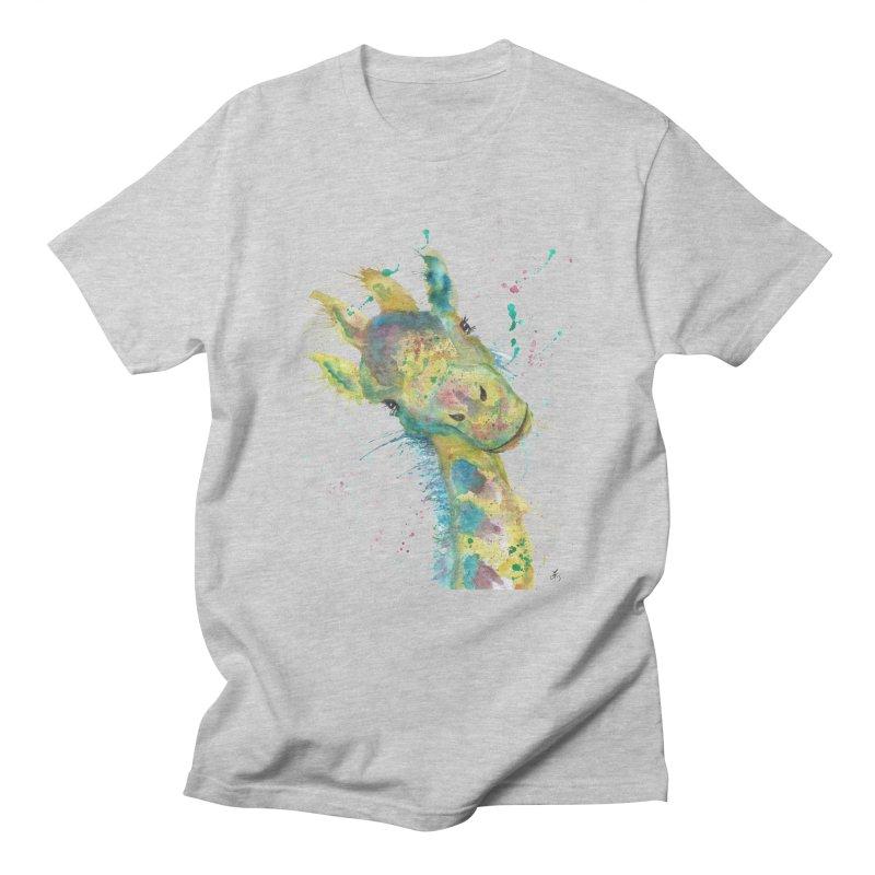 Hattie Giraffe Men's T-Shirt by jamietaylorart's Artist Shop