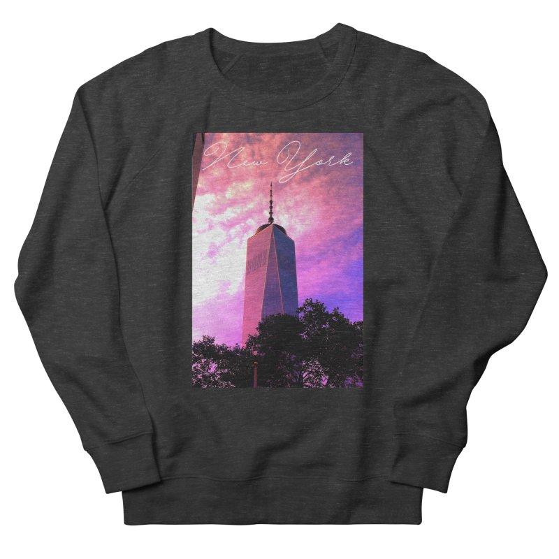 New York Men's Sweatshirt by Junaid's Artist Shop