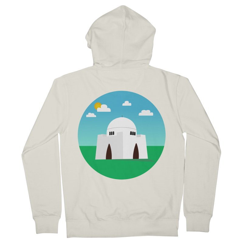 Karachi Men's Zip-Up Hoody by jamraphic's Artist Shop