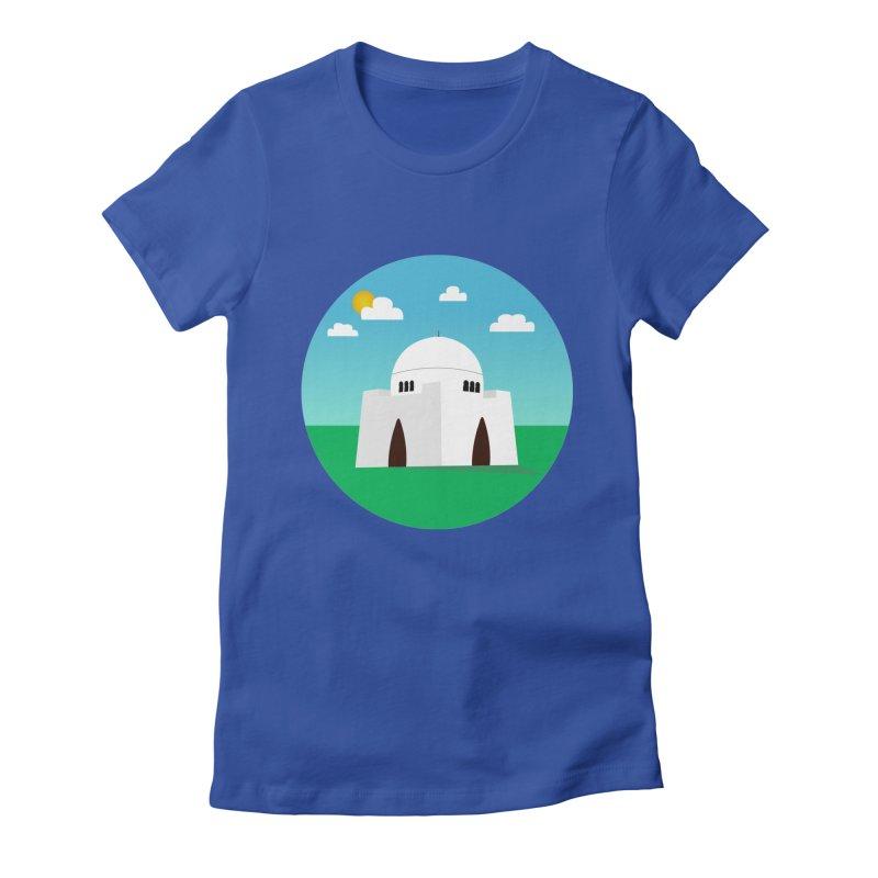 Karachi Women's Fitted T-Shirt by jamraphic's Artist Shop