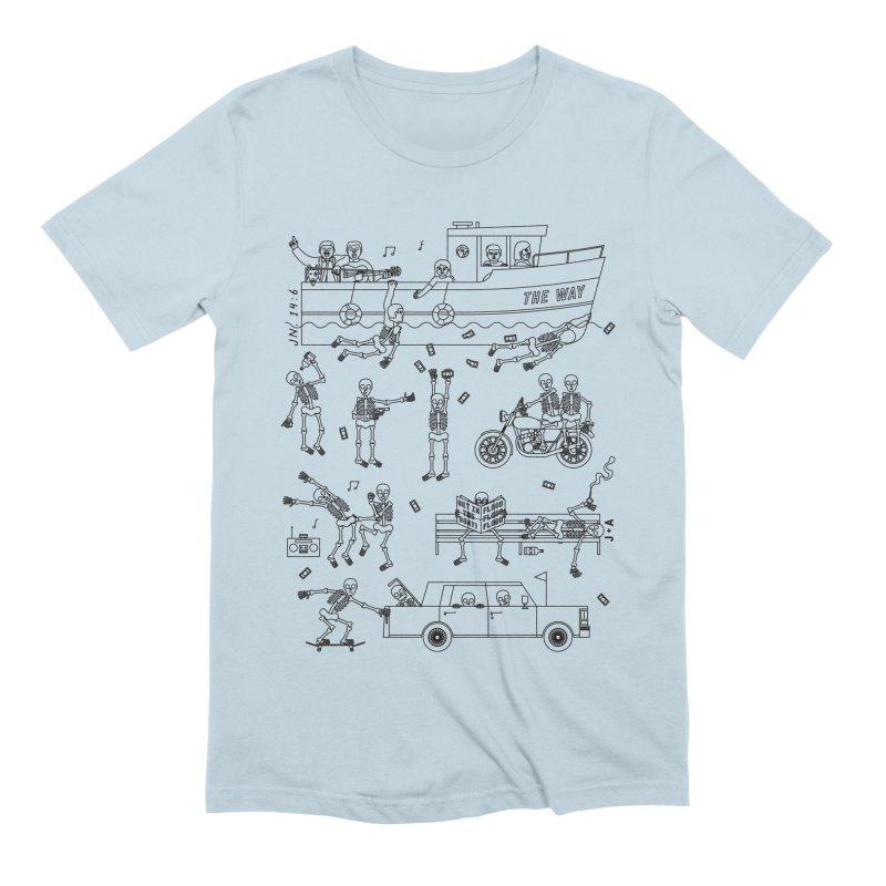 The Way Men's Extra Soft T-Shirt by Jamus + Adriana