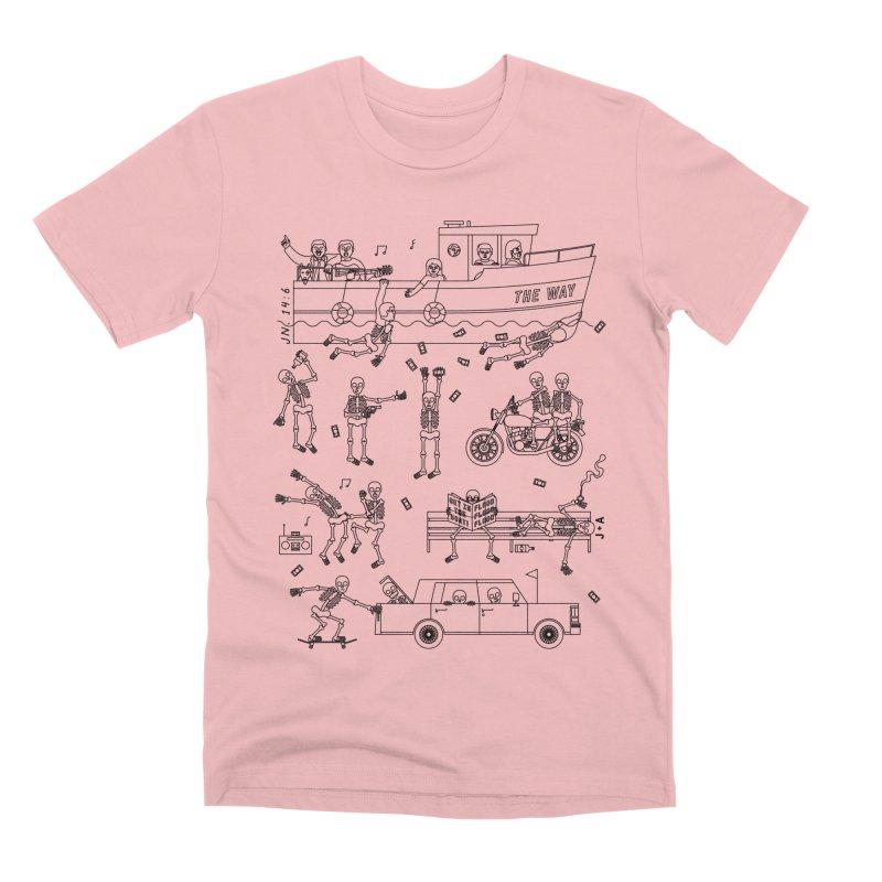 The Way Men's Premium T-Shirt by Jamus + Adriana