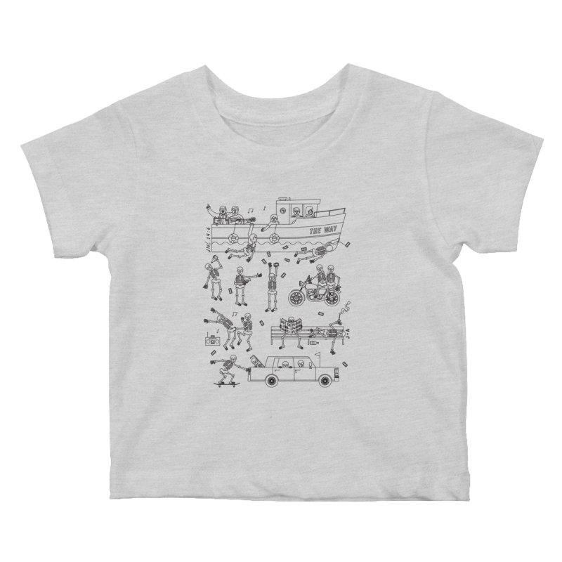 The Way Kids Baby T-Shirt by Jamus + Adriana