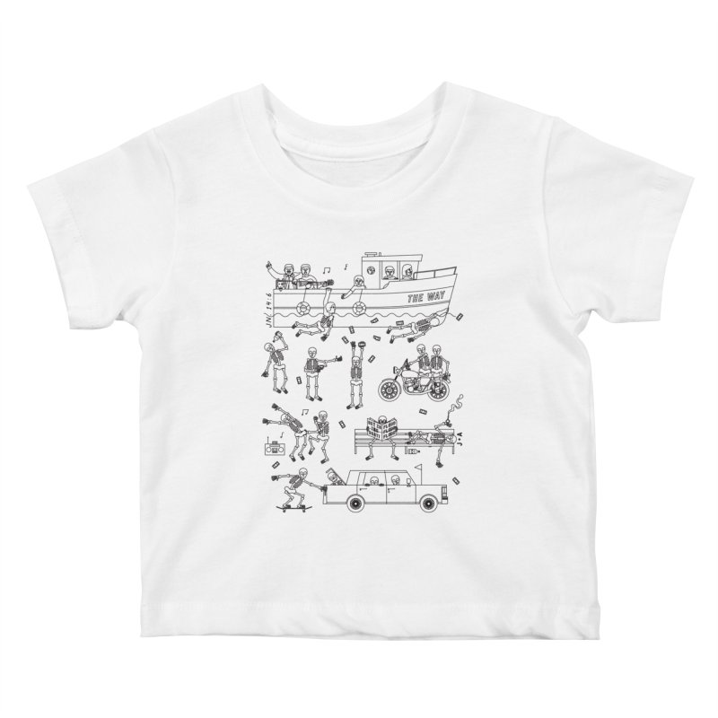 The Way Kids Baby T-Shirt by Jamus + Adriana