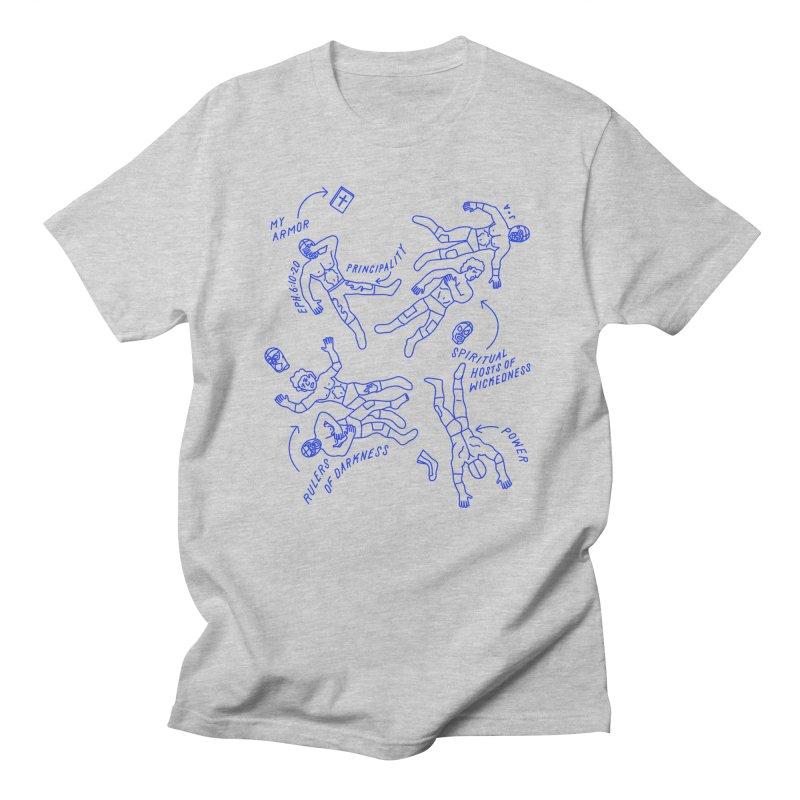 Wrestling Darkness Women's Regular Unisex T-Shirt by Jamus + Adriana
