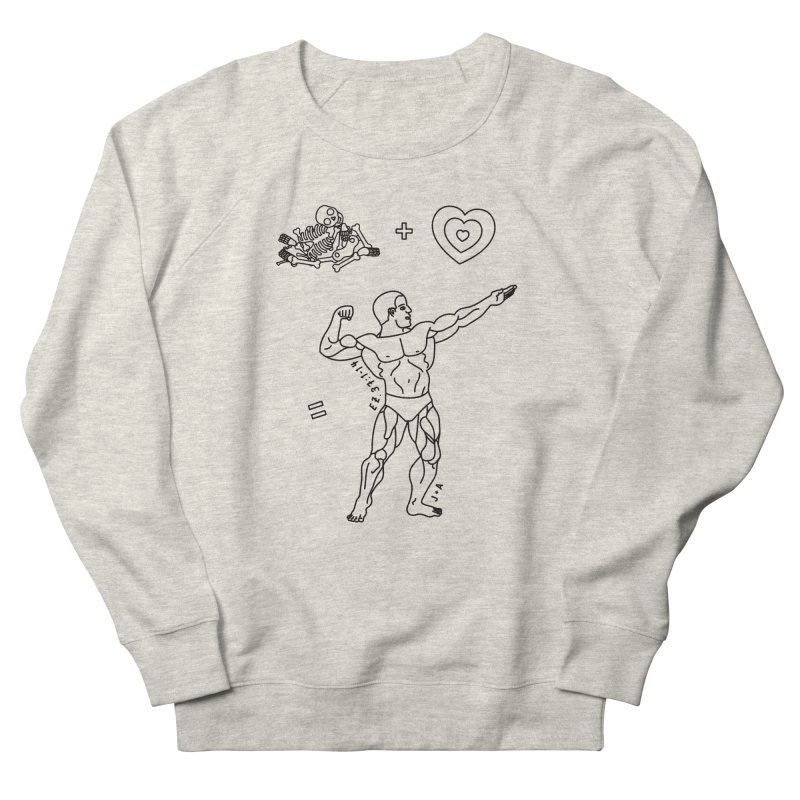 Can these bones live? Women's French Terry Sweatshirt by Jamus + Adriana