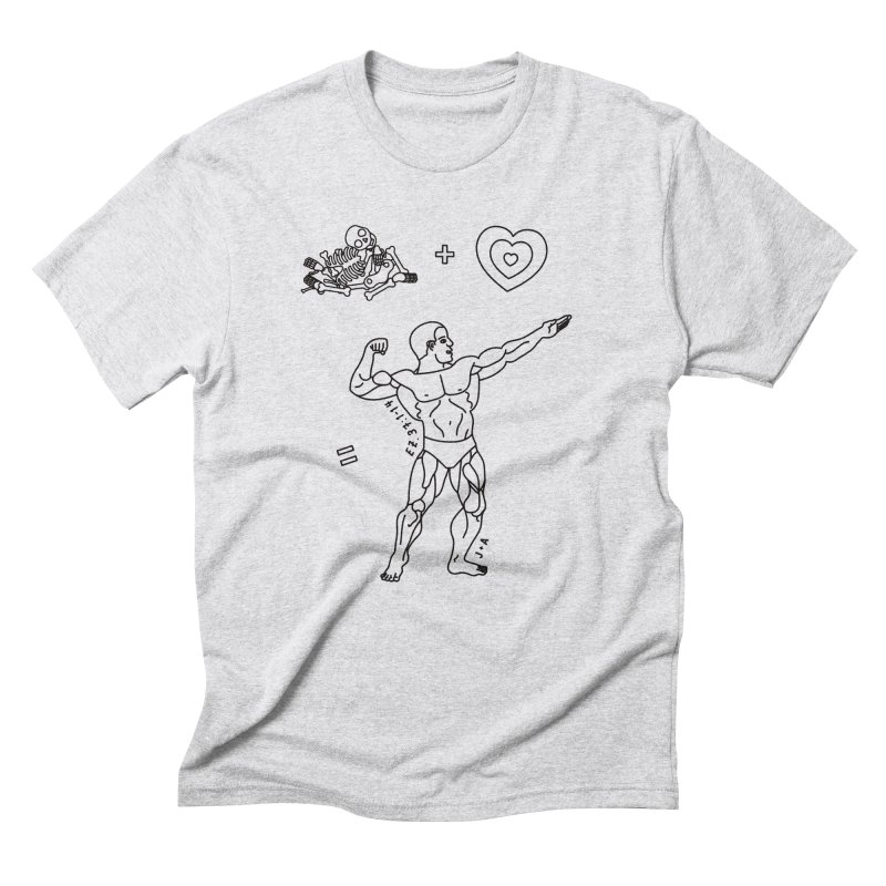 Can these bones live? Men's Triblend T-Shirt by Jamus + Adriana