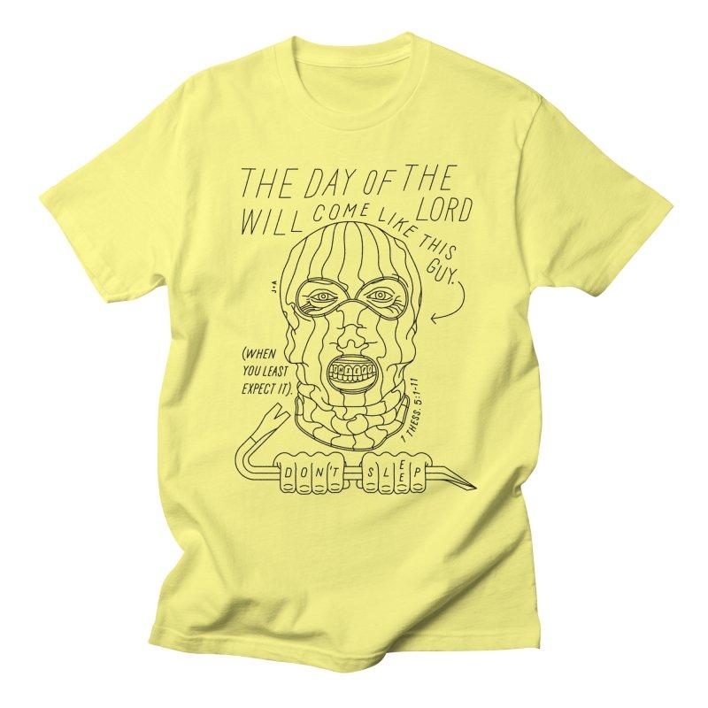 THIEF IN THE NIGHT Men's T-Shirt by Jamus + Adriana