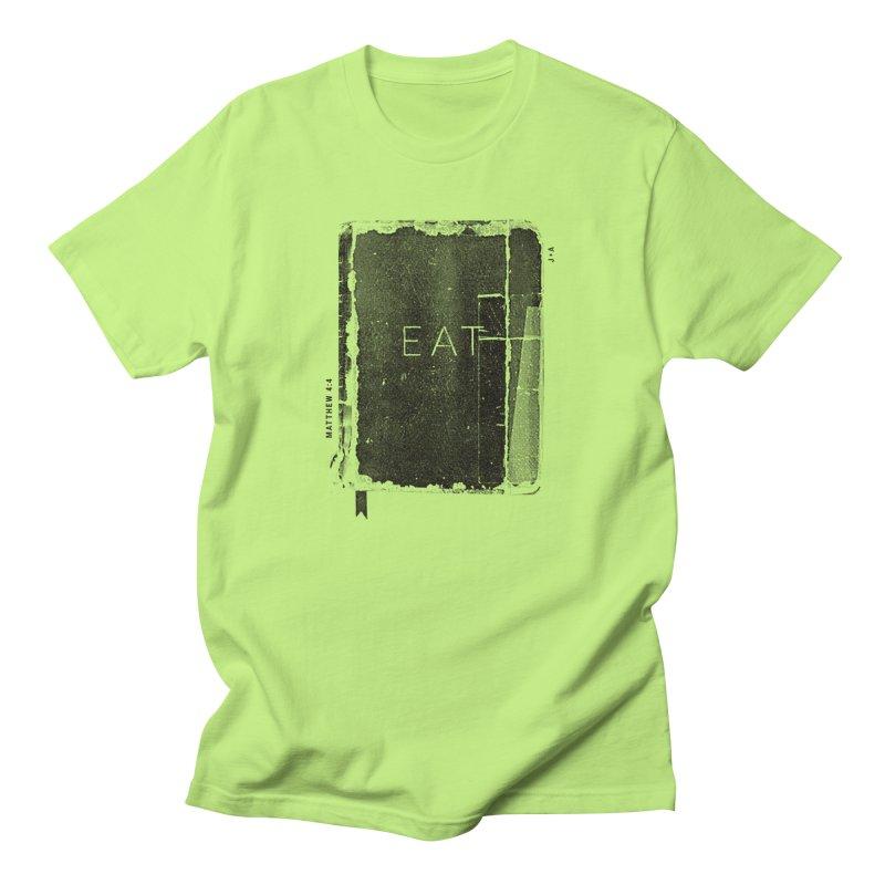 EAT Men's T-Shirt by Jamus + Adriana