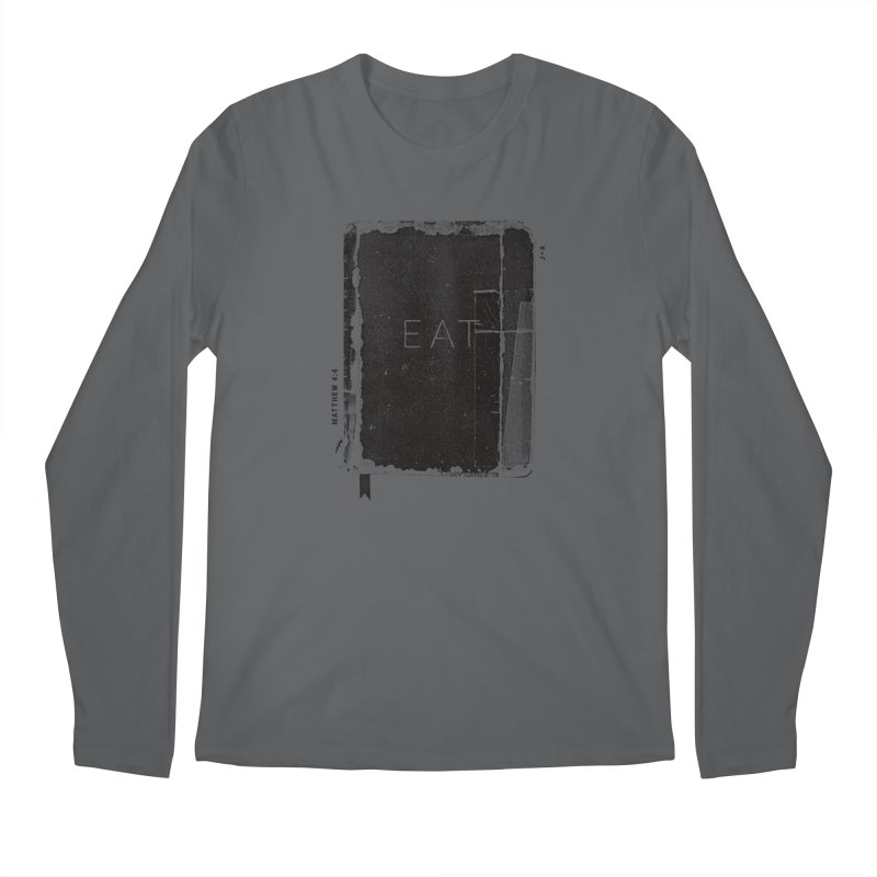 EAT Men's Longsleeve T-Shirt by Jamus + Adriana