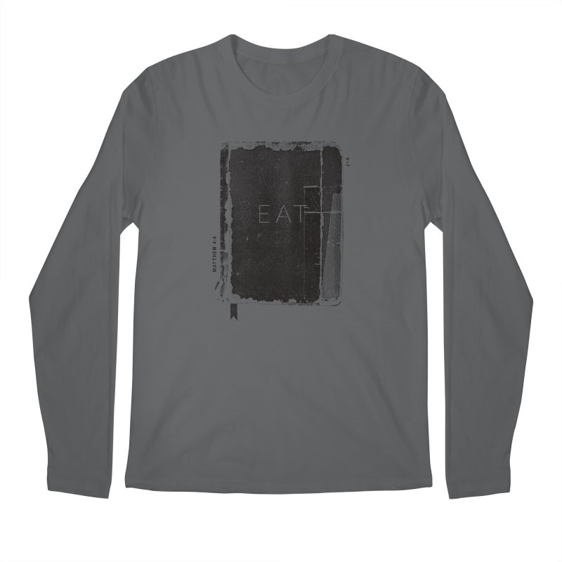 EAT Men's Regular Longsleeve T-Shirt by Jamus + Adriana