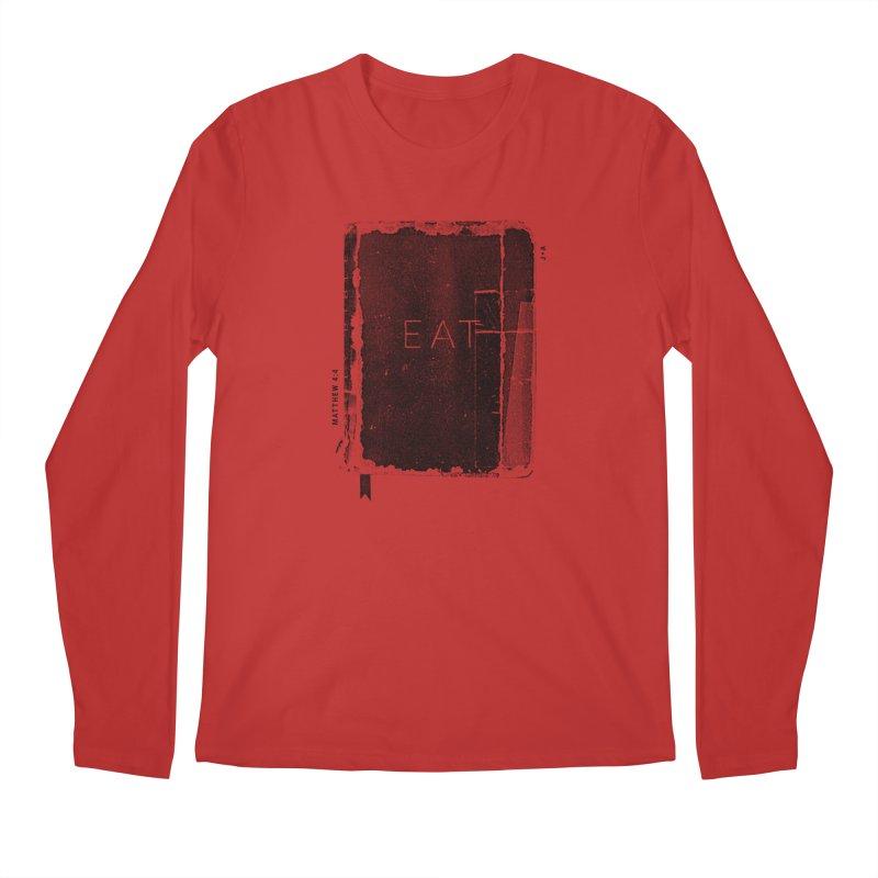 EAT Men's Longsleeve T-Shirt by Jamus + Adriana
