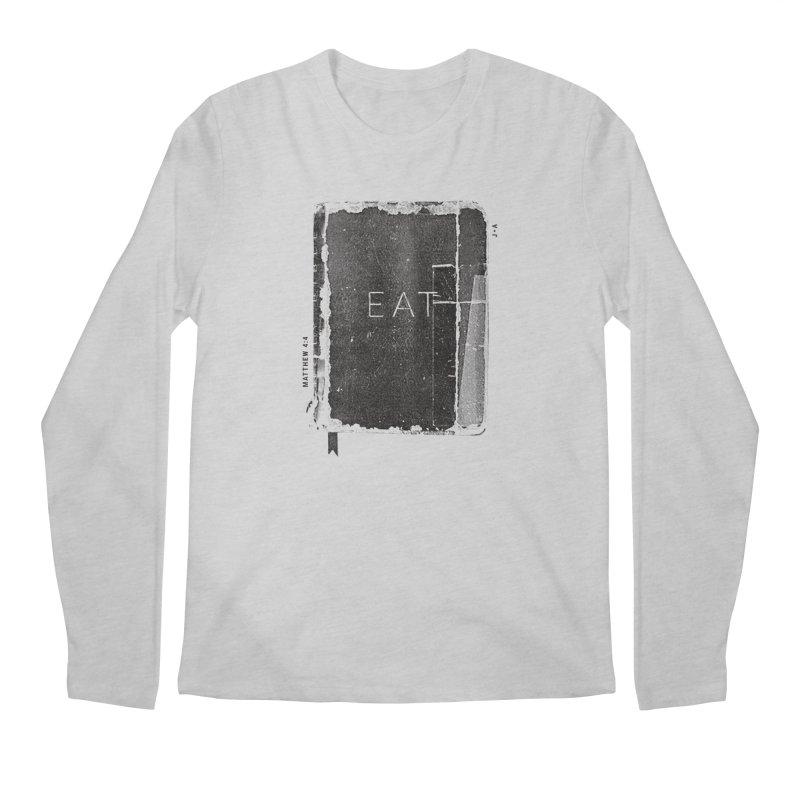 EAT Men's Regular Longsleeve T-Shirt by Jamus + Adriana