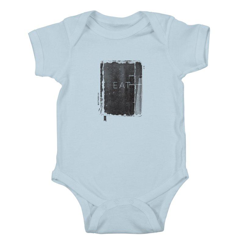 EAT Kids Baby Bodysuit by Jamus + Adriana