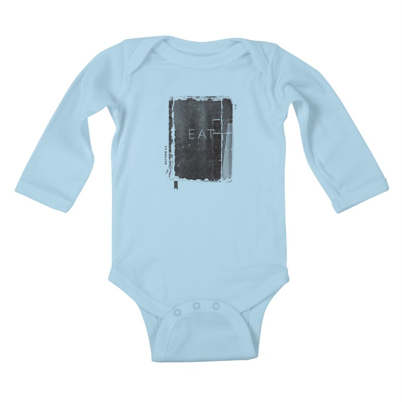 EAT Kids Baby Longsleeve Bodysuit by Jamus + Adriana