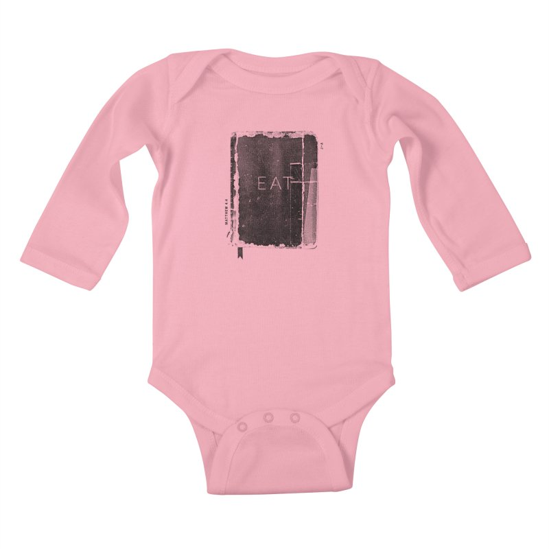 EAT Kids Baby Longsleeve Bodysuit by Jamus + Adriana