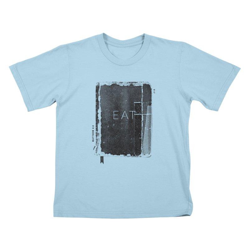EAT Kids T-Shirt by Jamus + Adriana