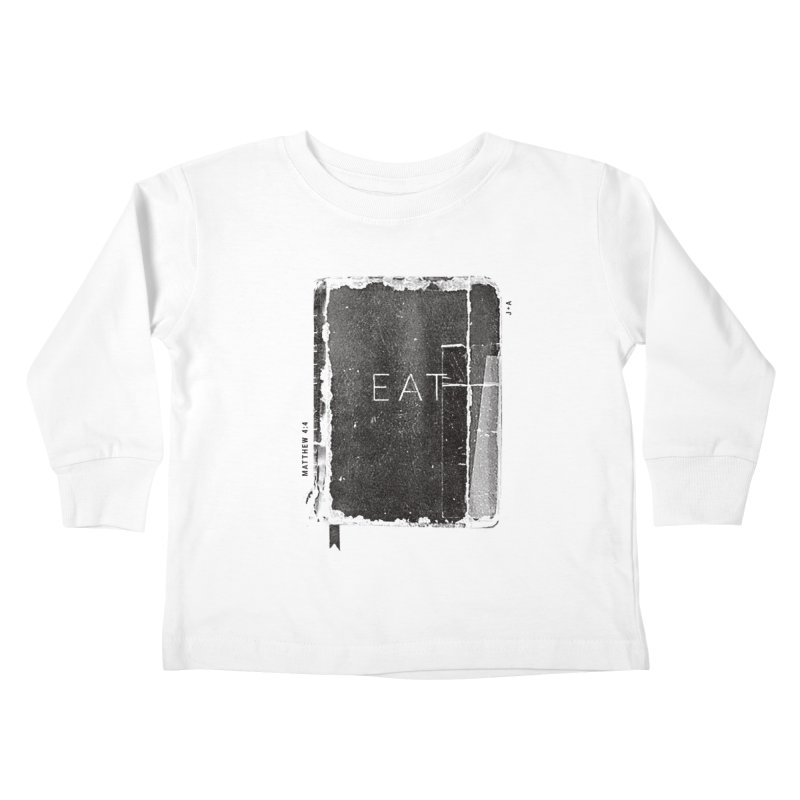 EAT Kids Toddler Longsleeve T-Shirt by Jamus + Adriana