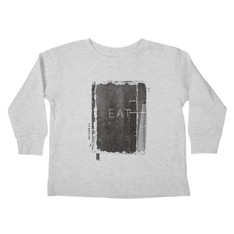 EAT Kids Toddler Longsleeve T-Shirt by Jamus + Adriana