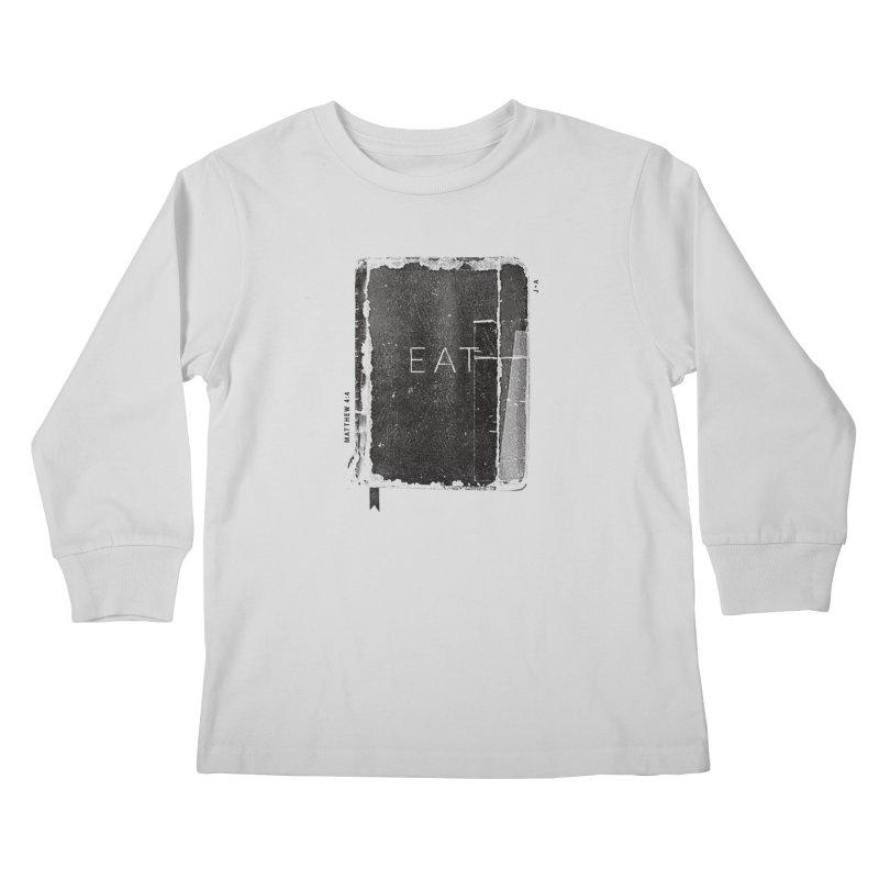 EAT Kids Longsleeve T-Shirt by Jamus + Adriana