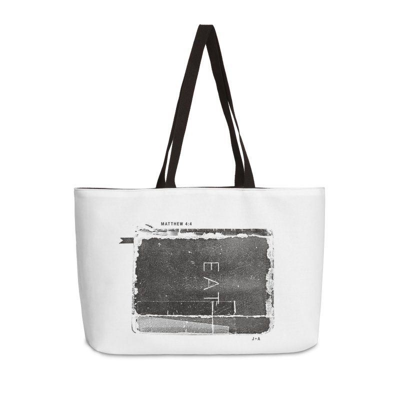EAT Accessories Weekender Bag Bag by Jamus + Adriana