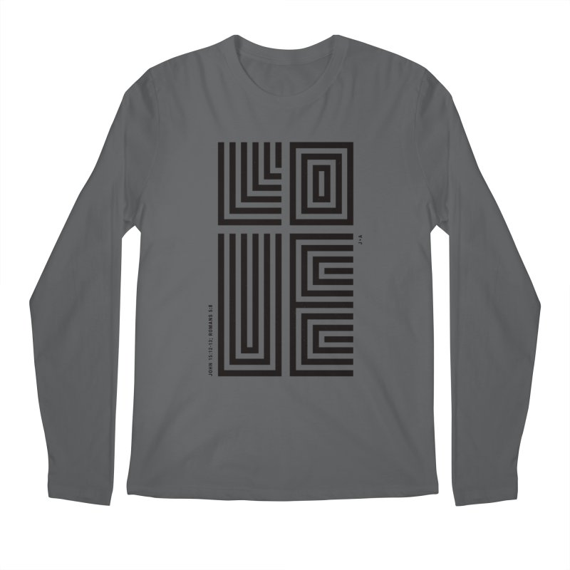 LOVE CROSS Men's Longsleeve T-Shirt by Jamus + Adriana