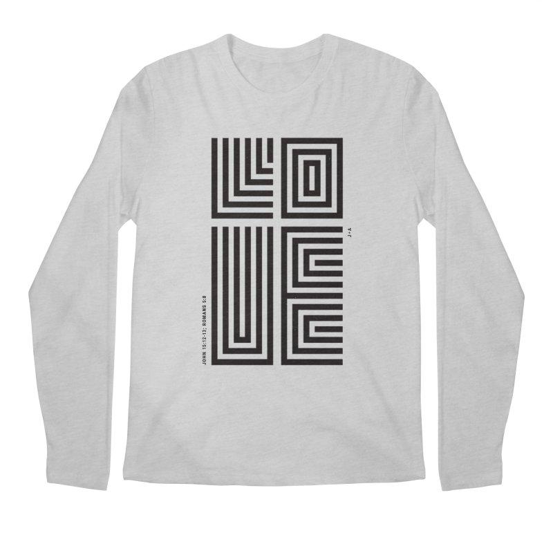 LOVE CROSS Men's Regular Longsleeve T-Shirt by Jamus + Adriana