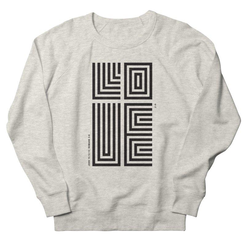LOVE CROSS Men's Sweatshirt by Jamus + Adriana