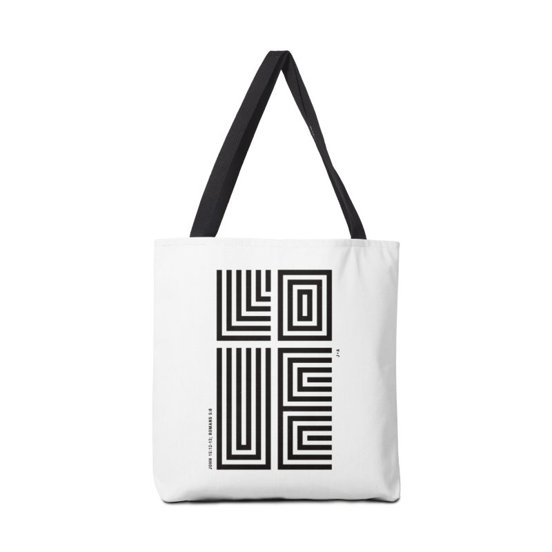LOVE CROSS Accessories Tote Bag Bag by Jamus + Adriana