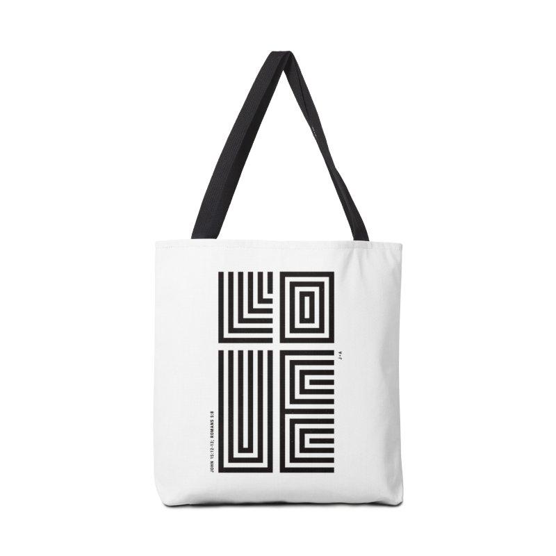 LOVE CROSS Accessories Bag by Jamus + Adriana