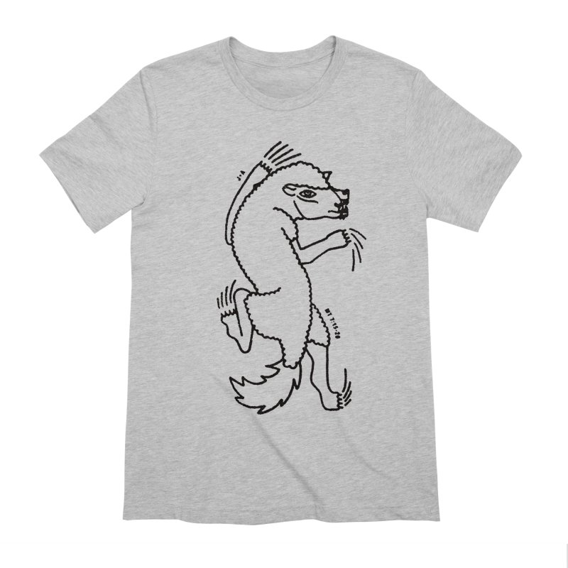 WOLF IN SHEEP'S CLOTHING Men's Extra Soft T-Shirt by Jamus + Adriana