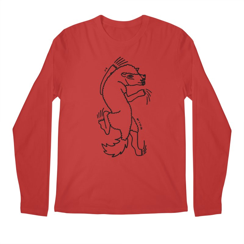 WOLF IN SHEEP'S CLOTHING Men's Longsleeve T-Shirt by Jamus + Adriana