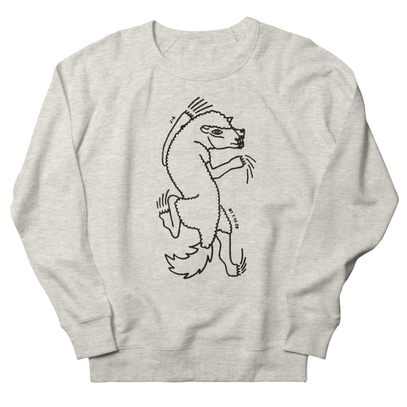 WOLF IN SHEEP'S CLOTHING Women's French Terry Sweatshirt by Jamus + Adriana