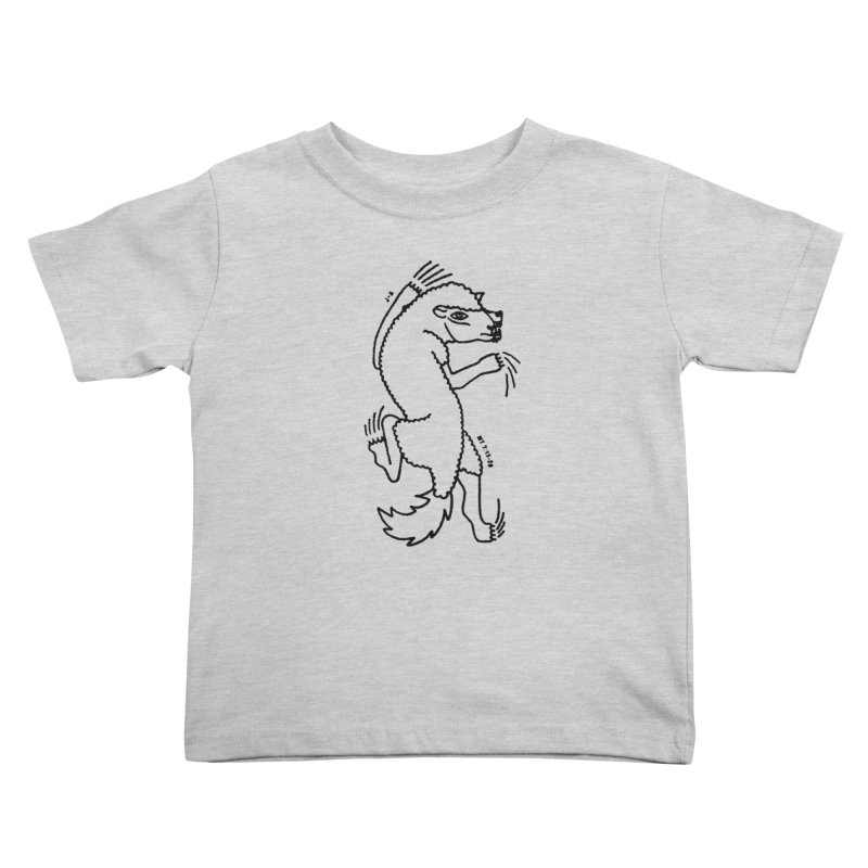 WOLF IN SHEEP'S CLOTHING Kids Toddler T-Shirt by Jamus + Adriana